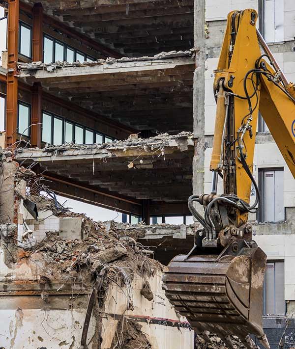 Commercial demolition Windsor, Ontario