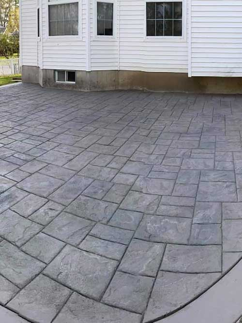 stamped concrete Windsor, Lakeshore