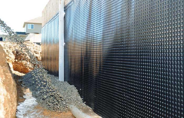 Exterior waterproofing Windsor, Leamington, Ontario